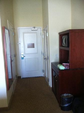 Hilton Garden Inn Bowling Green: entrance to room