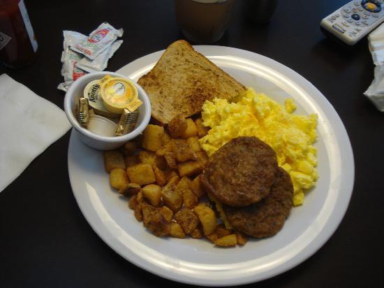Courtyard San Francisco Airport: Good Breakfast!