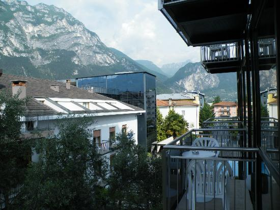 Hotel Garda - TonelliHotels: View from our balcony (210),right