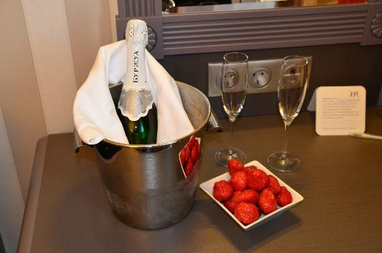 Mercure Arbat Moscow : Gift from the hotel!