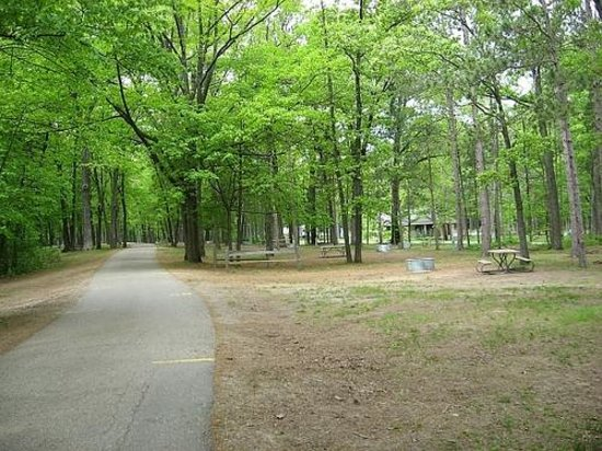 Albert E. Sleeper State Park: Campground Photo