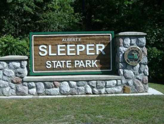 Albert E. Sleeper State Park: Main Entrance
