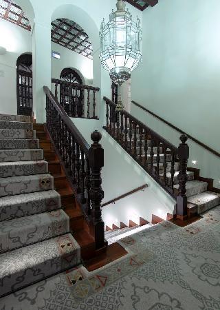 Parador de Granada: Escalera