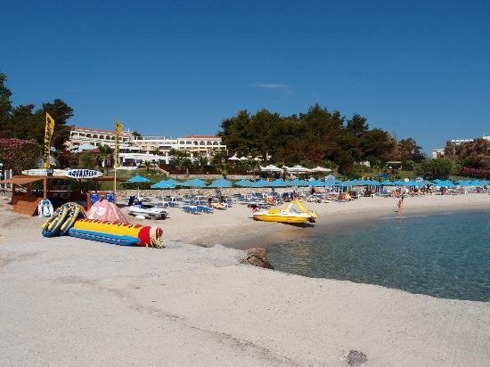 Aegean Melathron Beach Picture Of Aegean Melathron Thalasso Spa