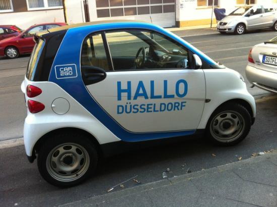 Max Hotel Garni: Hallo Dusseldorf!