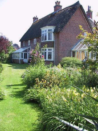 Shillingstone, UK: Church House from the garden