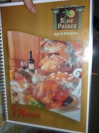 Blue Palace Apartments: somethink to eat