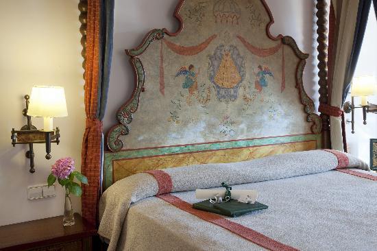 Guadalupe, Hiszpania: detalle habitación superior