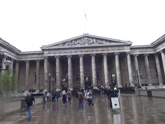 ลอนดอน, UK: the british museum