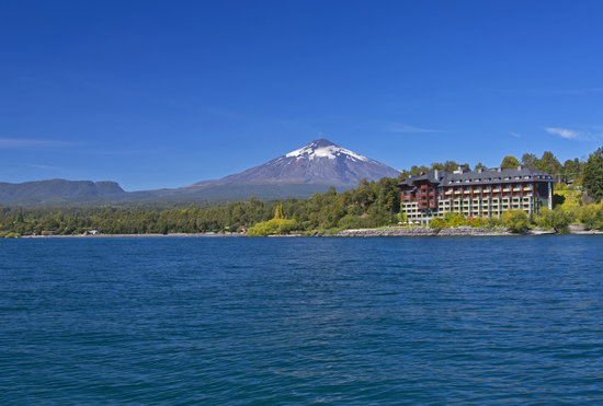 Villarrica, Chile: Exterior from Lake