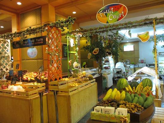 fruit buffet picture of baiyoke sky hotel rh tripadvisor co za