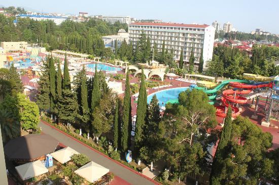 Hotel Vesna : Вид с балкона