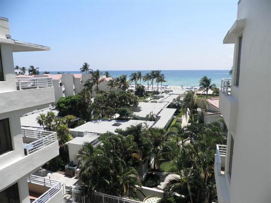 Golden Strand Ocean Villa Resort: view from our room