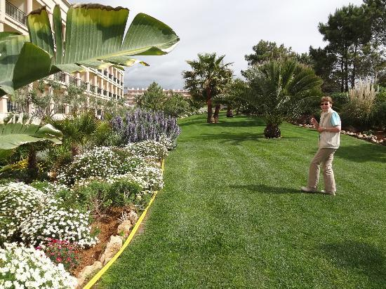 SENSIMAR Falesia Atlantic : The very-well looked after grounds