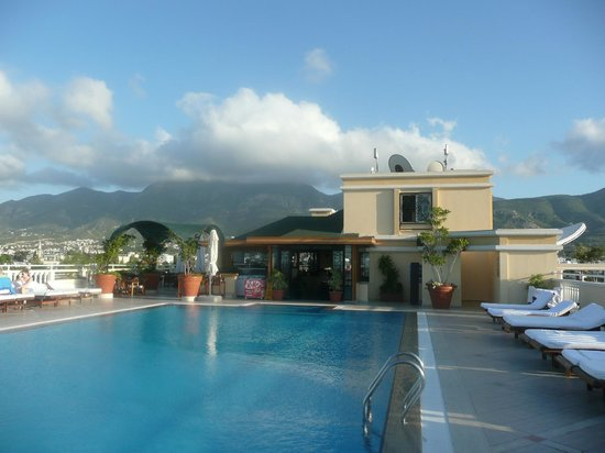 The Arkin Colony Hotel : Pool with a view.