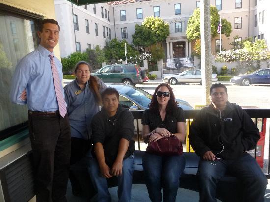 Travelodge at the Presidio San Francisco: Part of the team