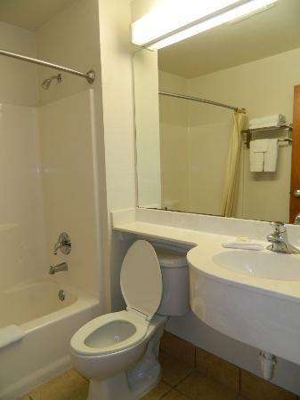 Microtel Inn & Suites by Wyndham Ft. Worth North/At Fossil Creek: Bathroom