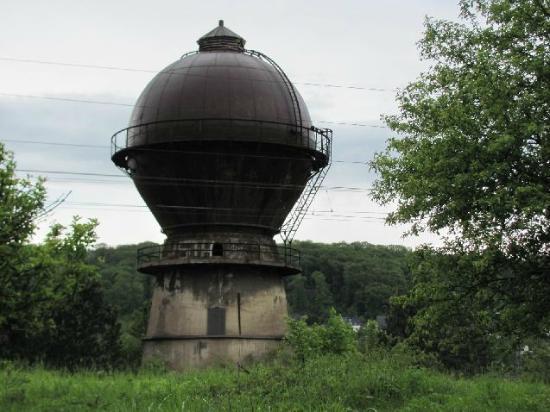 Wasserturm im Ausbesserungswerk