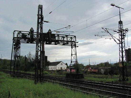 ehemalige Bahnhofsanlage