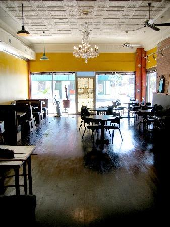 Bluegrass Kitchen: the main dining room