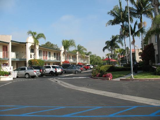 Best Western Lamplighter Inn & Suites at SDSU : View from road.