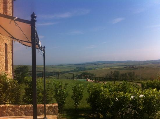 Podere Ampella: view from Gisella