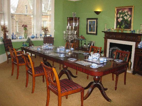Old Bank House B&B: Dining Room