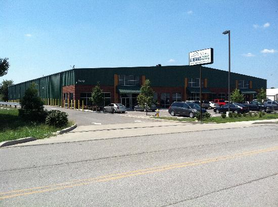 Bluegrass Karting & Events: Our 40,000 square foot facility.