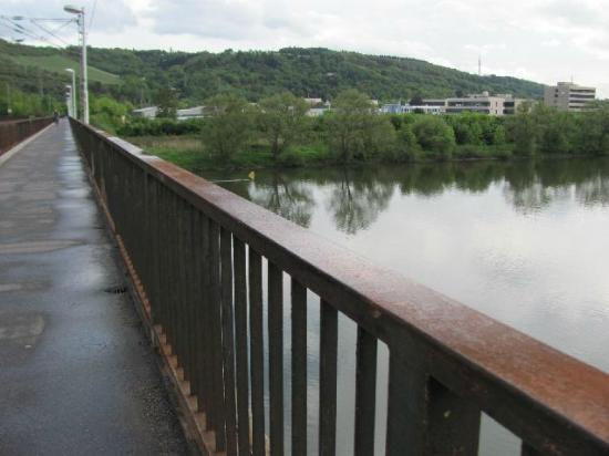 Eisenbahnbrücke Pfalzel