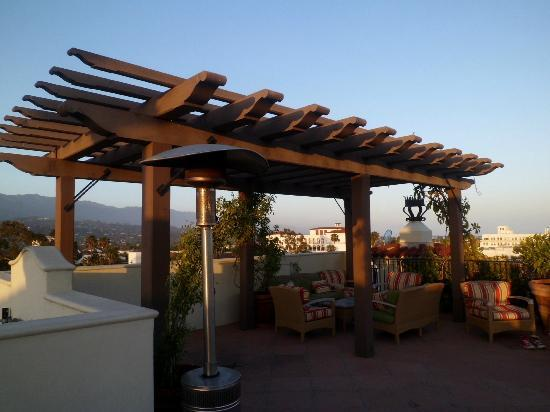 rooftop fireplace - Picture of Kimpton Canary Hotel, Santa Barbara ...