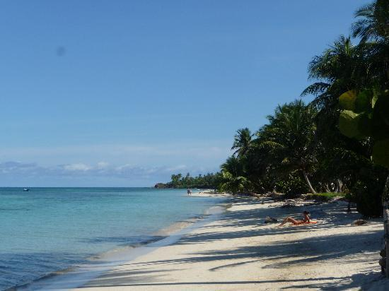 Little Corn Beach and Bungalow: Cocal Beach, Little Corn Island Nicaragua