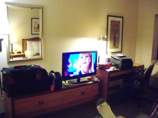 La Quinta Inn & Suites Nashville Airport: Left side of room