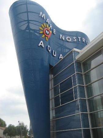 Aquarium Mare Nostrum: Entrance to the aquarium