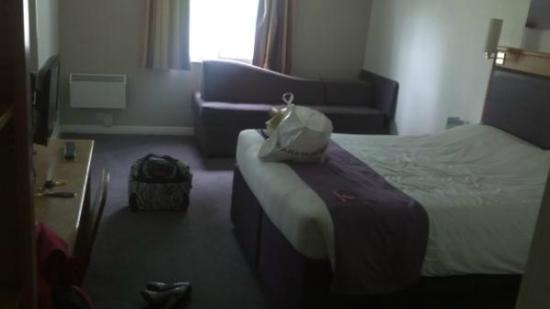 Premier Inn Norwich West (Showground/A47) Hotel: The bed
