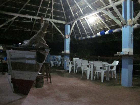 Xcalak Caribe: sala ristorante