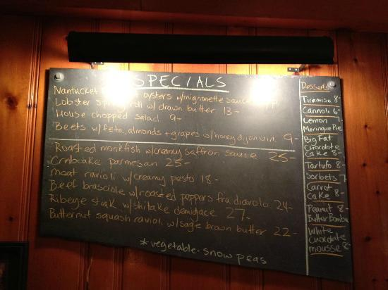 Rick's: checkout their facebook page for the weekly specials board