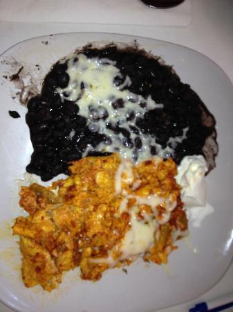 Creekside Cafe: Chorizo scramble...delicious!