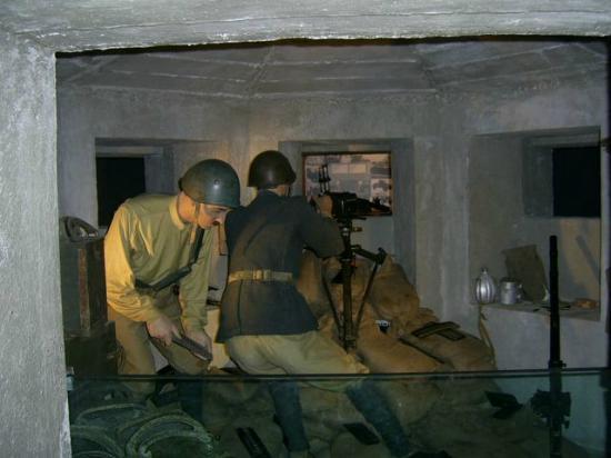 Museo Storico dello Sbarco in Sicilia 1943: militari