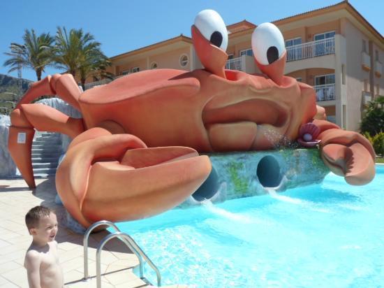 Aparthotel Playa Mar & Spa: Coolio the Crab