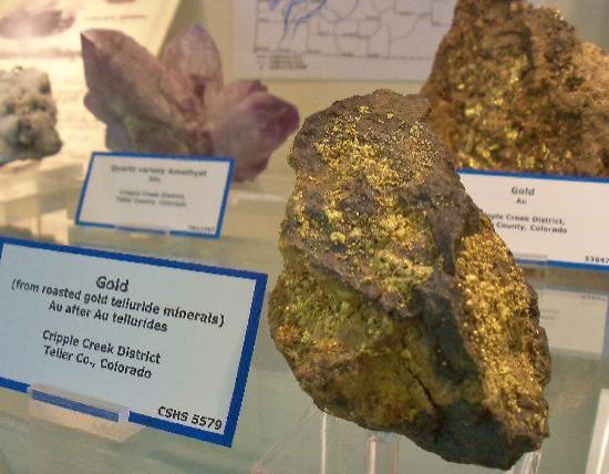 Colorado School of Mines Geology Museum: Gold