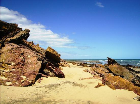 Areia Branca, RN: landscape of beach Cristovão