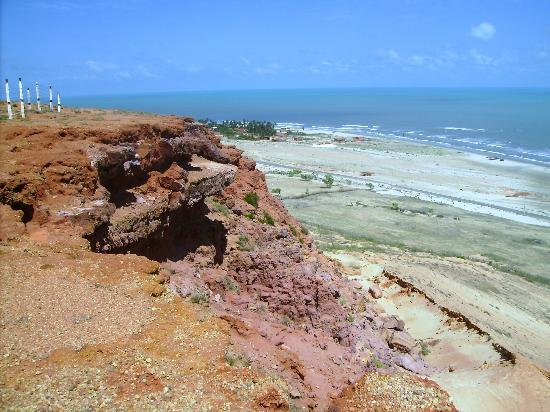 Areia Branca, RN: landscape beach Ponta do Mel