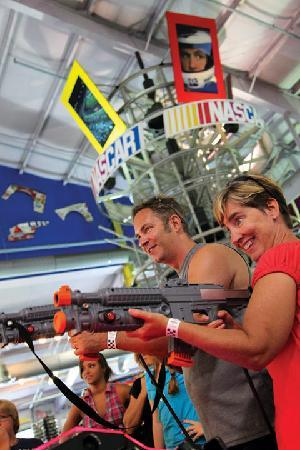 NASCAR Speedpark St. Louis: Arcade!