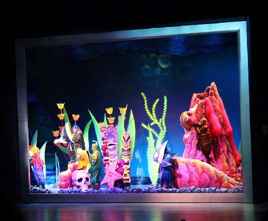 The Fish Tank Picture Of Finding Nemo The Musical