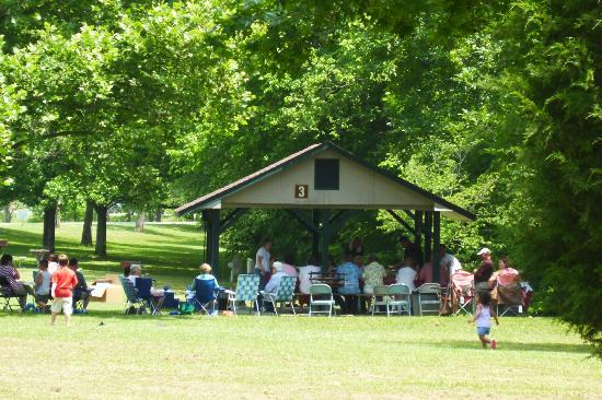 Indian Mountain State Park: Shelters available