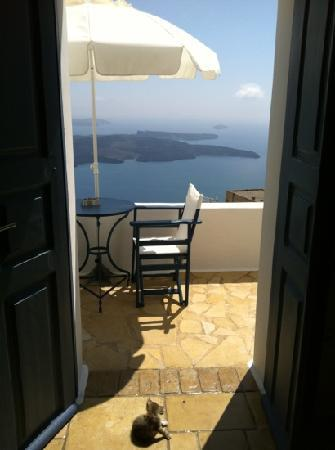 Arc Houses: View from Thira room