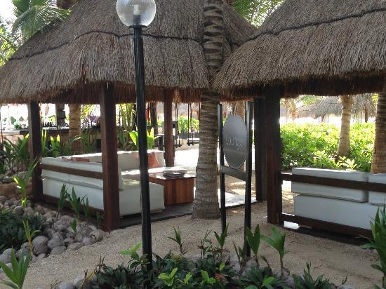 El Dorado Sensimar Riviera Maya: lounge area