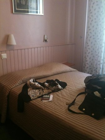 Hotel Mistral: The bed size