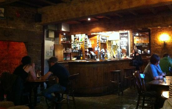 The Antelope Inn: a small section of the cozy interior