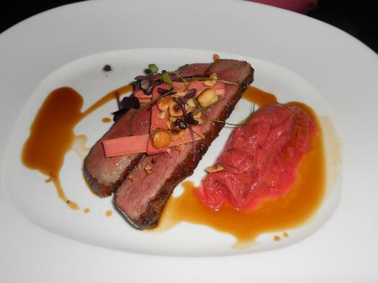 Cinghiale : Grilled Magret of Duck,